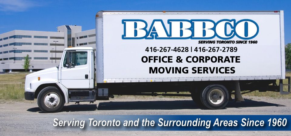 Office Movers Toronto